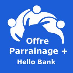 Logo Offre parrainage + Hello Bank